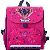 """Ранец Herlitz """"Mini Softbag"""" Pink Hearts, дошкольный"""