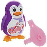 Поющий пингвин с кольцом, с принтом красок , DigiBirds