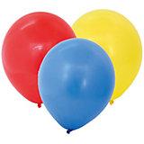 Воздушные шары ACTION! латексные без рисунка 25см, 100шт
