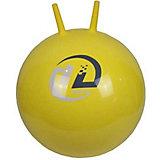 Мяч-попрыгун Z-Sports  с рожками, 45см, желтый