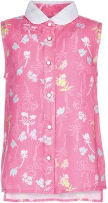 Блузка Button Blue для девочки - розовый