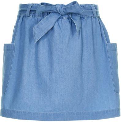 Юбка Button Blue для девочки - голубой