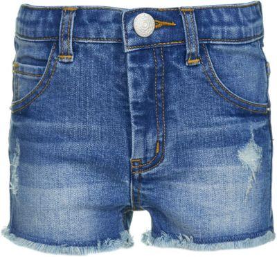 Шорты джинсовые Button Blue для девочки - голубой