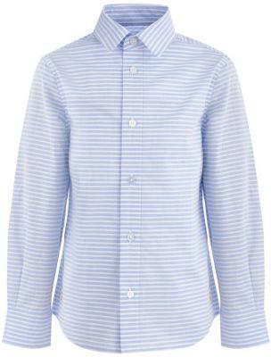 Сорочка Button Blue для мальчика - белый