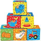 """Первые кубики для малышей """"Мой маленький мир"""""""