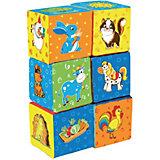 """Первые кубики для малышей """"Ферма"""""""