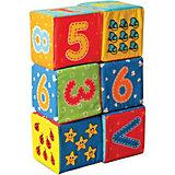 """Первые кубики для малышей """"Цифры"""""""