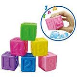 "Игрушка Bebelino ""Кубики с цифрами"""