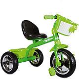 """Велосипед Zilmer """"Сильвер Люкс"""", 3 колеса EVA 10/8"""", зеленый"""