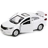 "Машина ""Kia Rio"" 12см, металл. инерц., открыв. двери и багажник."