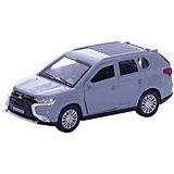 """Машина """"Mitsubishi Outlander"""" 12см, металл. инерц., открыв. Двери."""