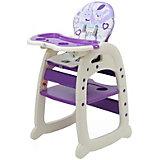 Стульчик для кормления Polini 460, фиолетовый