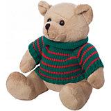 Медведь  в свитере,  бежевый, 12 см