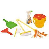 """Игровой набор Hualian Toys  """"Генеральная уборка"""" с аксессуарами (7 предметов)"""