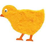 Аппликация на магнитике Цыплёнок