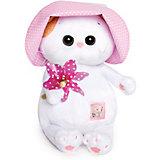 Мягкая игрушка Budi Basa Кошечка Ли Ли Baby в панамке с вертушкой, 20 см