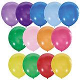 Воздушные шары Latex Occidental 100 шт., пастель + декоратор
