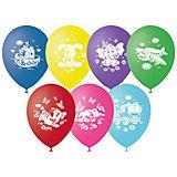 """Воздушные шары Latex Occidental """"Детская тематика"""" 50 шт., пастель + декоратор (шёлк)"""