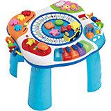Поезд с буквами и столик для игры на пианино WinFun