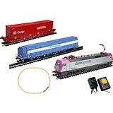 "Электровоз Mehano ""Eurosprinter Magneta"" с вагонами T214 и T216"