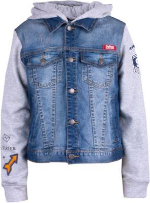 Куртка джинсовая Gulliver для мальчика - синий