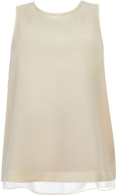 Блузка Gulliver для девочки - бежевый