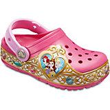 """Сабо """"Disney Princess"""" CROCS для девочки"""