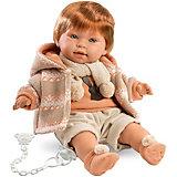 """Кукла Llorens """"Кристиан"""", 42 см  со звуком"""