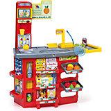 Игровой звуковой супермаркет Molto  с тележкой  (17 предметов)