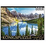 """Пазл Konigspuzzle """"Канада. Озеро Морейн"""" 500 элементов"""