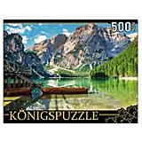 """Пазл Konigspuzzle """"Италия. Альпийское озеро Брайес"""" 500 элементов"""