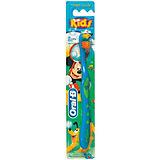 Детская зубная щетка Oral-B Mickey for Kids от 3 лет, синяя