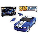 """3D пазл Happy Well """"Форд Мустанг"""", синий"""