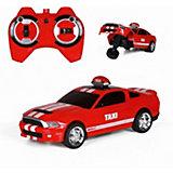 Радиоуправляемая машина Yako Toys, красная