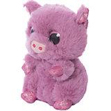 Мягкая игрушка Teddy Свинка розовая,15 см
