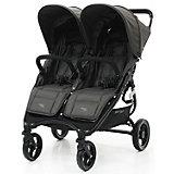 Прогулочная коляска для двойни Valco baby Snap Duo / Dove Grey baby Snap Duo, темно-серая