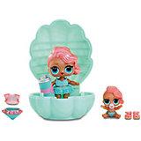 Мини-кукла сюрприз MGA Entertainment LOL Lil Sisters Основная кукла и сестренка (в жемчужине)