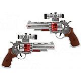 Игрушечное оружие 4HOME Космический бластер Револ 2 шт, 19 см