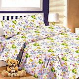 Детское постельное белье 1,5 сп. Letto,Коты,розовый