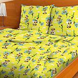 Детское постельное белье 1,5 сп. Letto,Тигренок, желтый