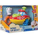 """Заводная игрушка для ванны HAP-P-KID """"Кораблик"""" - Полярный медведь"""