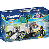 """Конструктор Playmobil """"Супер 4"""" Техно Хамелеон с Джином"""