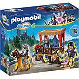 """Конструктор Playmobil """"Супер 4"""" Королевская Трибуна с Алексом"""