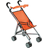Коляска-трость для кукол Buggy Boom, оранжевая