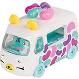 "Игровой набор Moose ""Cutie Car"" Машинка с мини-фигуркой Shopkins, Jelly Bean Machine"