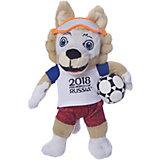 Мягкая игрушка FIFA-2018 1Toy Волк Забивалка, 21 см