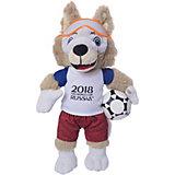 Мягкая игрушка FIFA-2018 1Toy Волк Забивалка, 33 см