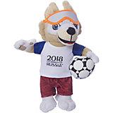 Мягкая игрушка FIFA-2018 1Toy Волк Забивалка, 28 см