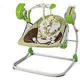 """Электрокачели Baby Care """"Flotter"""", зелёные"""