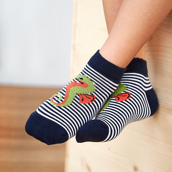 Chaussettes pour enfants, paquet de 2, coton biologique